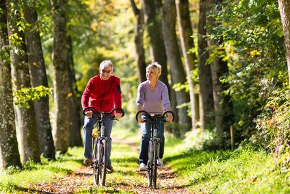 Fahrrad fahren als Bewegungsprogramm