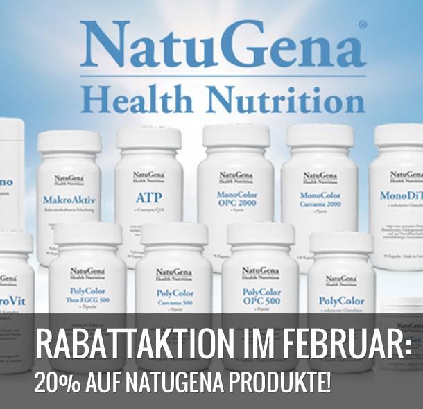 20% auf Natugena Produkte