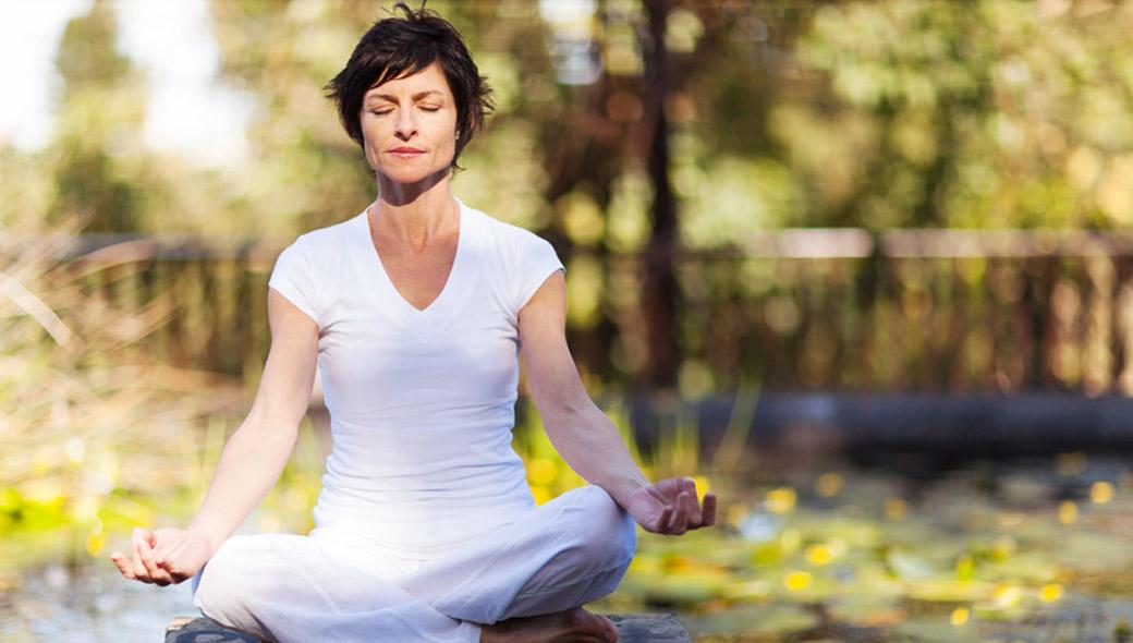 Regelässiges Meditieren kann die Gesundheit fördern