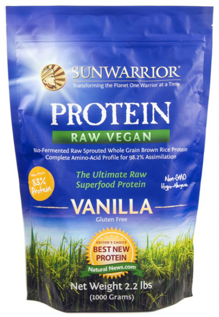 Sunwarrior Protein Vanille Geschmack