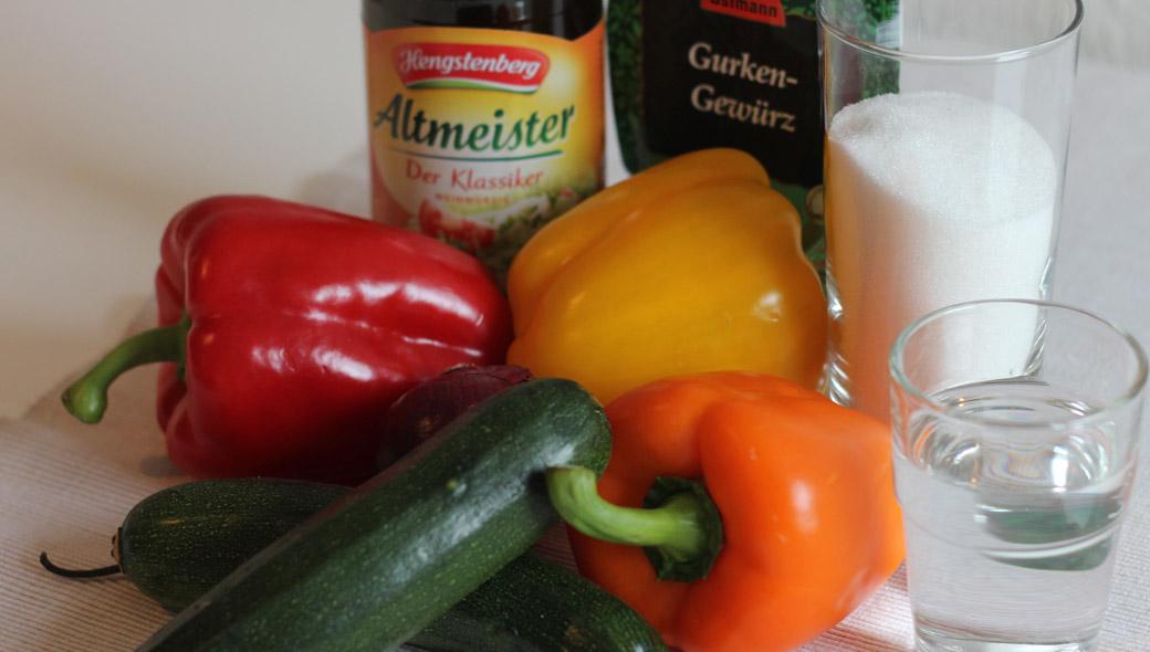 Mixed Pickles Zutaten
