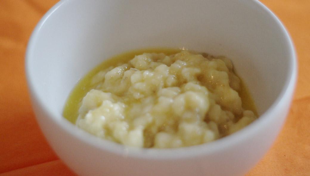 Low-Carb-Keto Muffin Bananenmus
