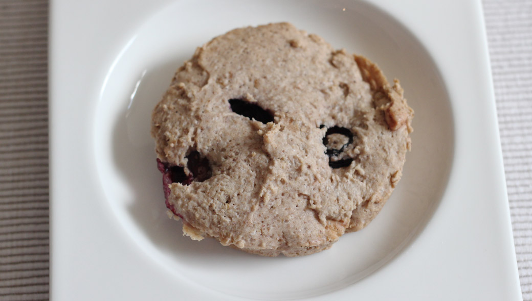 Erdbeer-Heidelbeer-Cookies -  glutenfrei