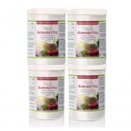 AcerolaVita (Der Vitamin-C-Drink) - Vorsorgepaket - 4x 1000g von Cellavita