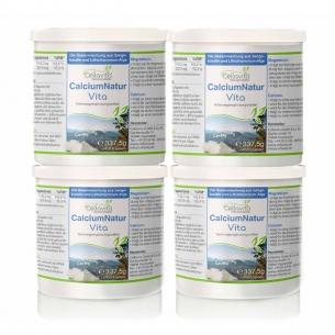 Calcium Natur Vita - Vorsorgepaket - 4 x 450 Kapseln von Cellavita