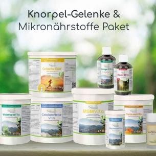 Knochen-/Knorpel-/Gelenke-Plus Starterpaket von Cellavita