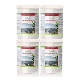 LithothamniumVita (100 % Rotalge) Vorsorgepaket 4 x 1kg von Cellavita