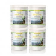 MSM - Organischer Schwefel Vorsorgepaket 4 x 1kg von Cellavita