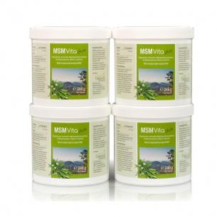 MSMVita Plus- Vorsorgepaket- 4 x 450 Kapseln von Cellavita