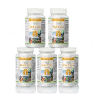 Multi C Vita Vorsorgepaket 5 x 180 Tabletten von Cellavita