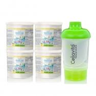 Multifit kids Vitamin C & Magnesium Vorsorgepaket von Cellavita