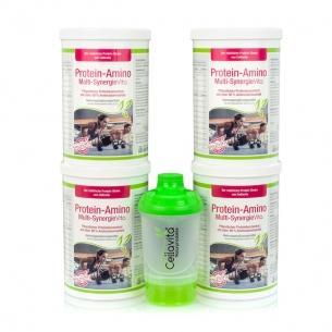 Protein-Amino Multi-Synergie Vita - Vorsorgepaket- 4x900g von Cellavita