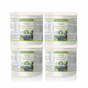 Vitamin B-Komplex Vita -Vorsorgepaket- 4x180g von Cellavita