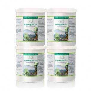 WeizengrasVita Vorsorgepaket 4 x 500g von Cellavita