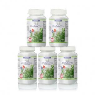 Zink-Selen Vita Vorsorgepaket 5 x 90 Kapseln von Cellavita