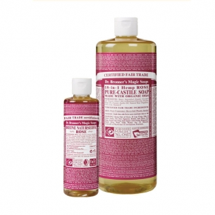 Dr. Bronner's 18-in-1 Naturseife, Rose