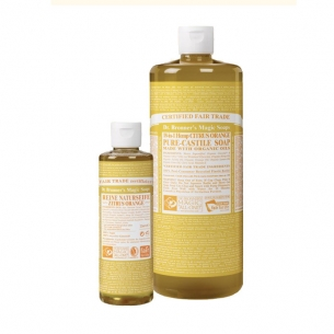 Dr. Bronner's 18-in-1 Naturseife, Zitrus-Orange