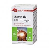 Vitamin D2 1000 I.E. vegan von Dr. Wolz
