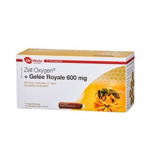 Zell Oxygen® + Gelee Royale 600mg von Dr. Wolz