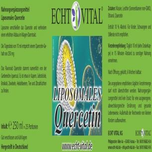 LIPOSOMALES QUERCETIN von ECHT VITAL