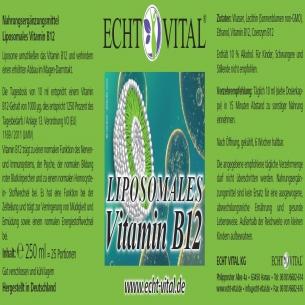 LIPOSOMALES VITAMIN B12 von ECHT VITAL