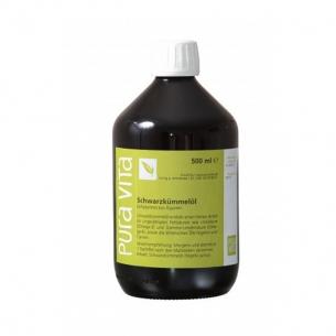 Schwarzkümmelöl Premium 500ml von PuraVita