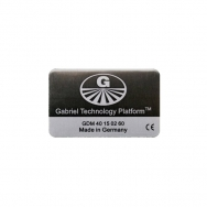 Gabriel-Chip für SmartPhone mit fest integriertem Akku, schwarz