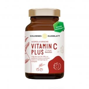 Vitamin C plus Zink von Goldenes Kleeblatt Naturprodukte