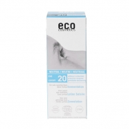 eco-cosmetics Sonnenlotion LSF 20, 100 ml - ohne Parfum