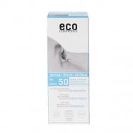 eco-cosmetics Sonnenlotion LSF 50, 100 ml - ohne Parfum