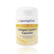 SpongiCol Kollagen-Lecithin Kapseln (100 Stk) von KliniPharm