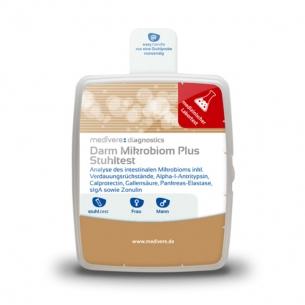 Darm-Mikrobiom Plus Stuhltest von medivere