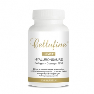 Cellufine® Hyaluronsäure mit Collagen Typ I & Typ II + Q10