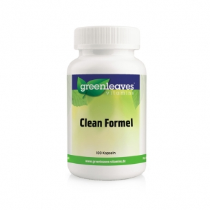Clean Formel von Greenleaves Vitamins