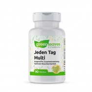 Jeden Tag Multi (mit 90 Tabletten) von greenleaves vitamins