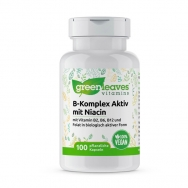 Vitamin-B-Komplex 50 mg mit Niacin von greenleaves vitamins