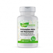 Vitamin-B-Komplex 50 mg mit Niacinamid von greenleaves vitamins