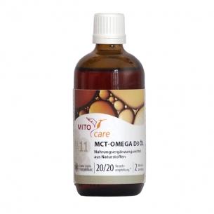 MITOcare® OMEGA D3-ÖL