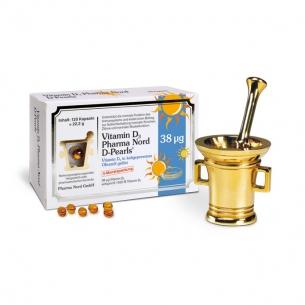 Vitamin D3 (D-Pearls) 38 μg von Pharma Nord