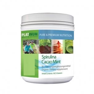 Cacao Mint Spirulina von Platinum Health
