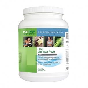 Love Multi Vegan Protein Vanilla von Platinum Health Europe