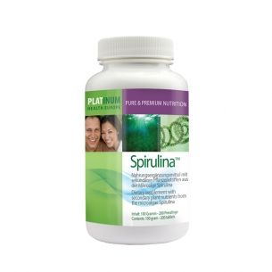 Spirulina 200 Tabletten von Platinum Health