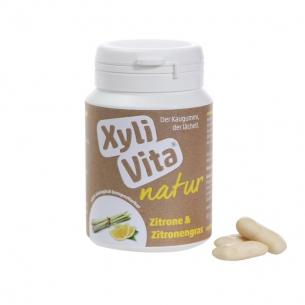 XyliVita® NATUR Kaugummi Zitrone & Zitronengras von PuraVita