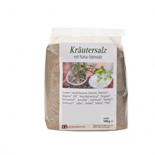 Kräutersalz, fein, 500 g von Quintessence Naturprodukte